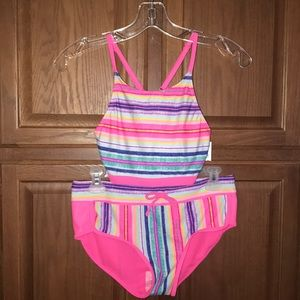 Justice Girls Two Piece Swimsuit New w/Tag 18